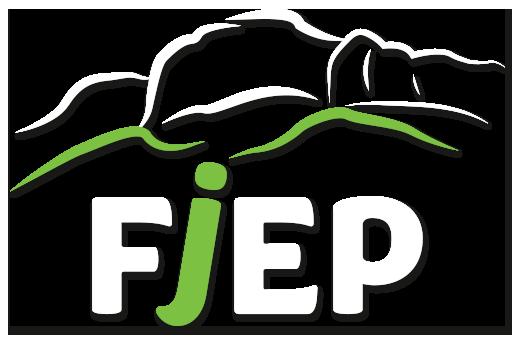 logo FJEP blanc