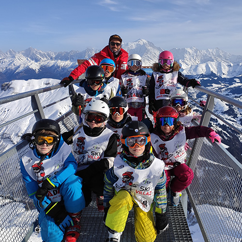 ski piste enfant